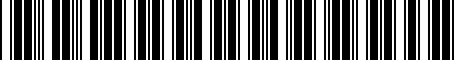Barcode for 04889821AB