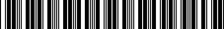 Barcode for 05062509AN