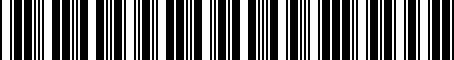 Barcode for 06102697AB