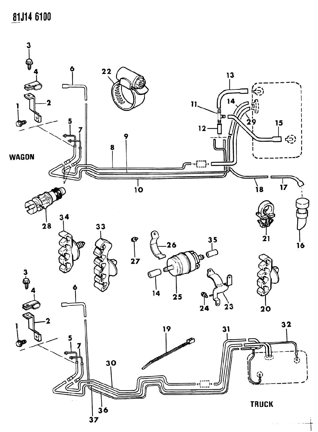 1996 jeep cherokee parts number