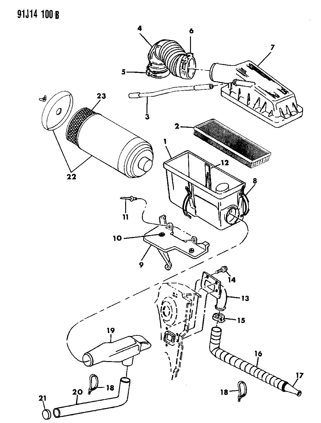 1993 jeep yj wrangler parts diagrams  u2022 wiring diagram for free