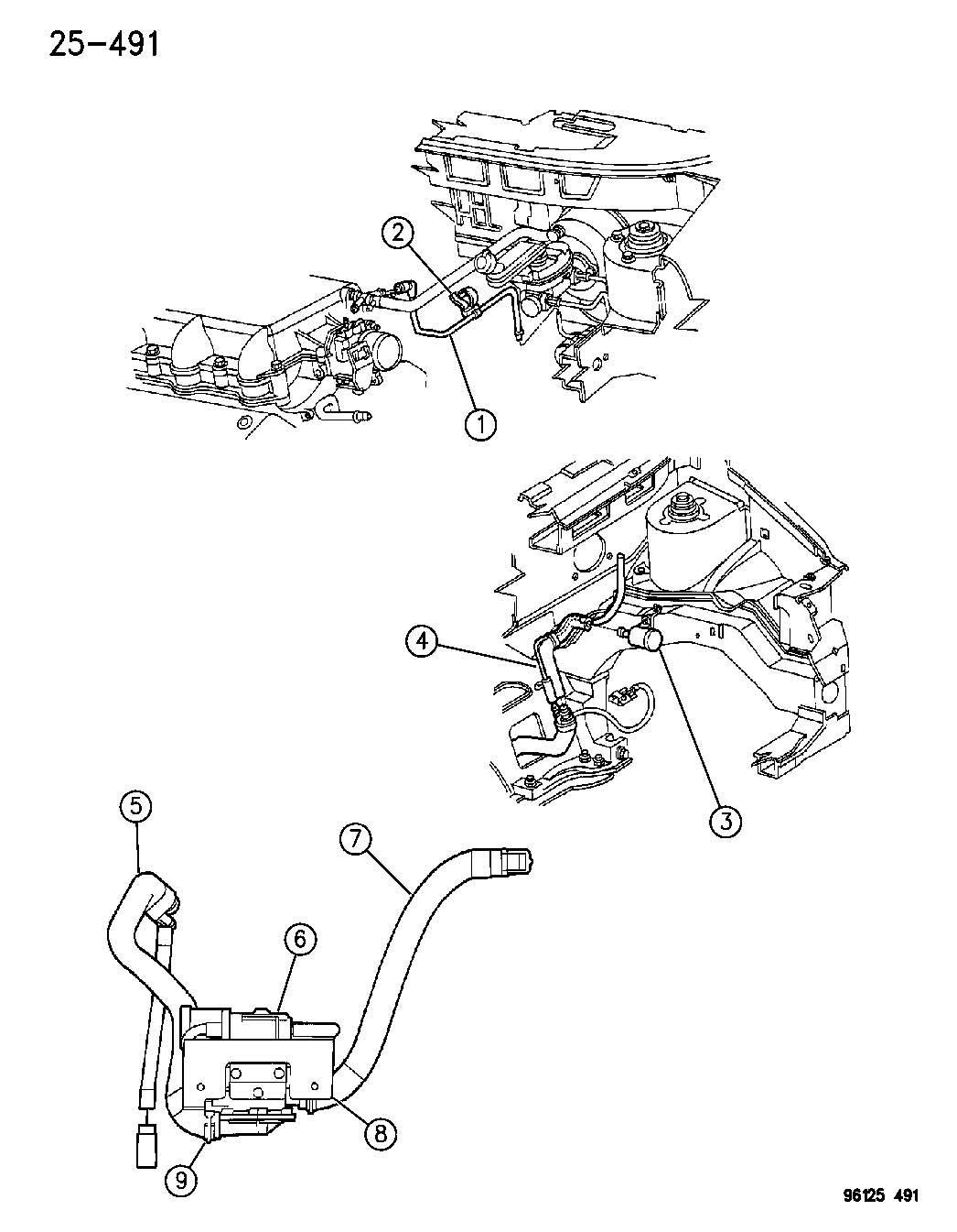 2003 jeep liberty pump  leak detection  pump  leak