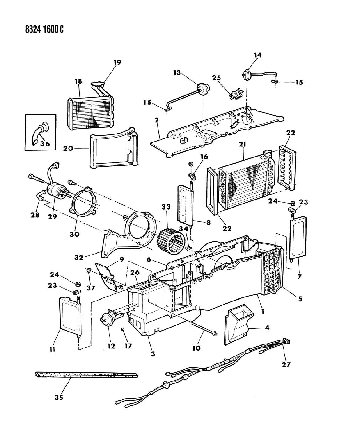 1987 dodge ram 150  250  350 resistor  heater  air