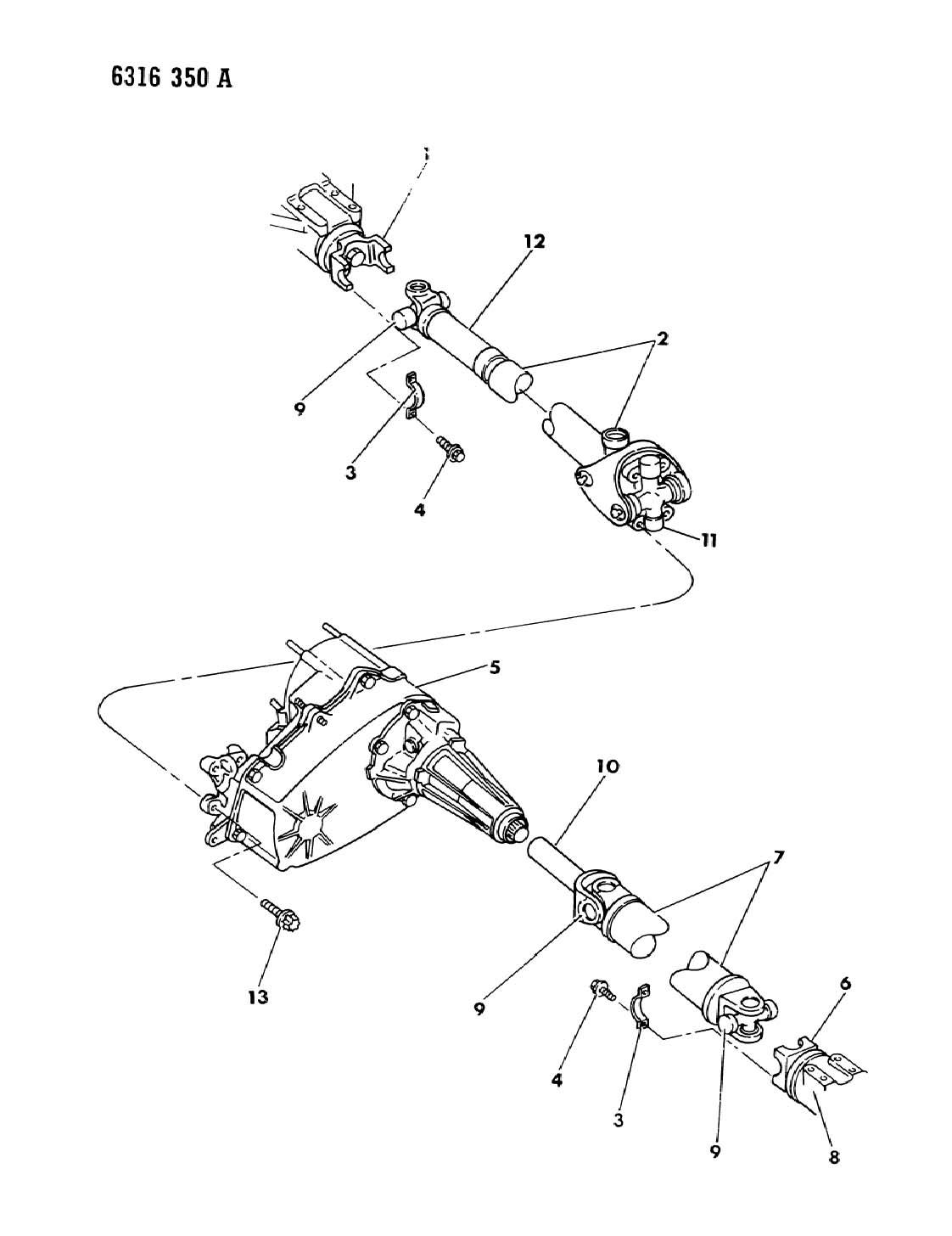 1986 jeep cherokee socket kit  yoke centering  shaft