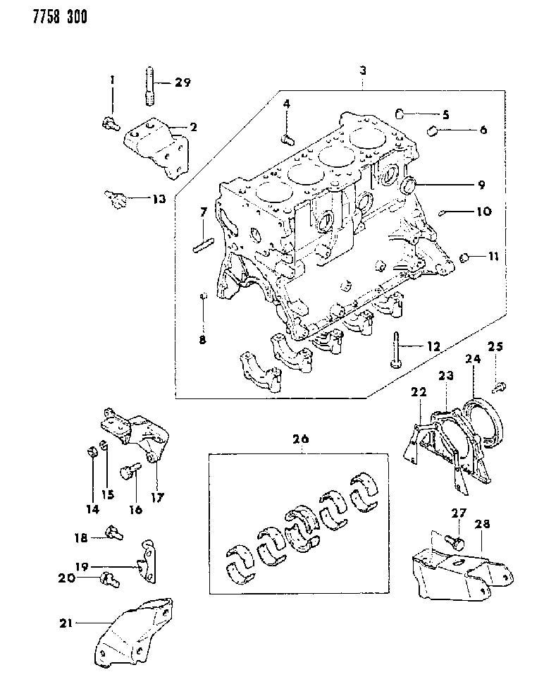 1995 dodge colt switch  oil pressure  engine  cylinder