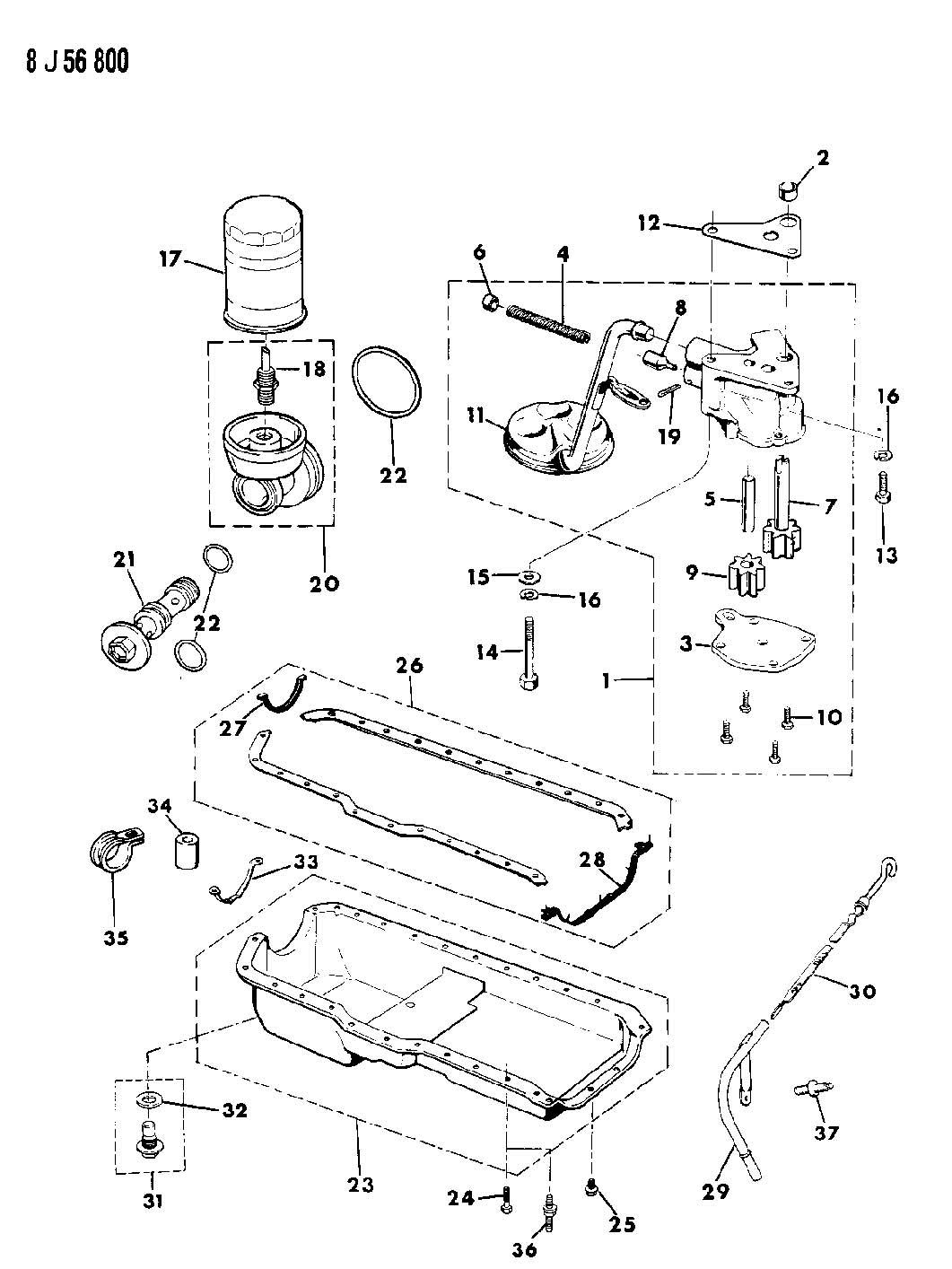 1987 jeep comanche pan  engine oil  pan  engine oil  1990