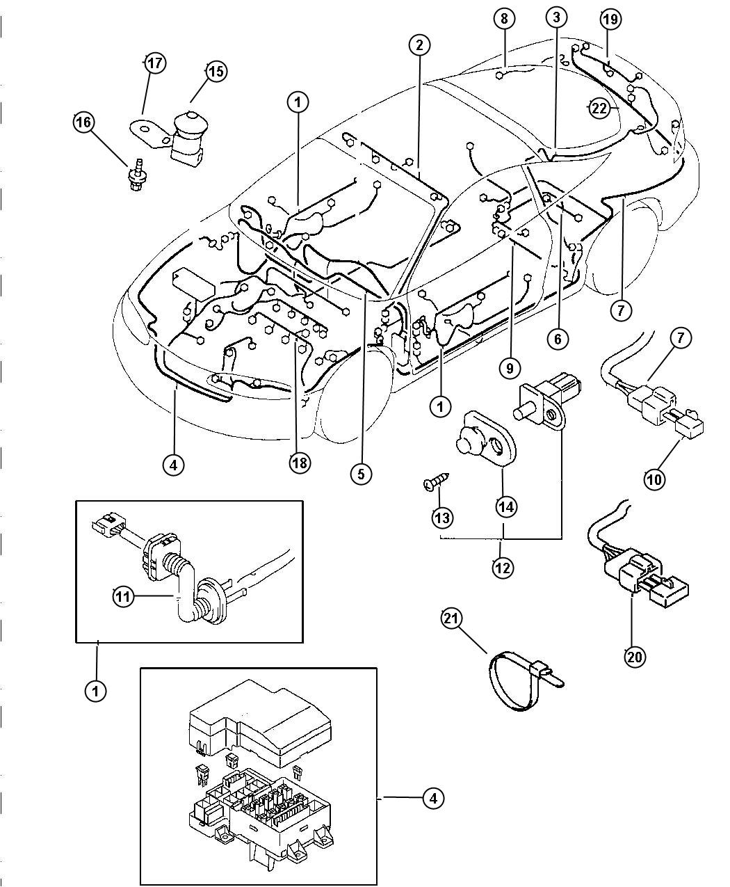 Diagram  2002 Chrysler Sebring Convertible Wiring Diagram