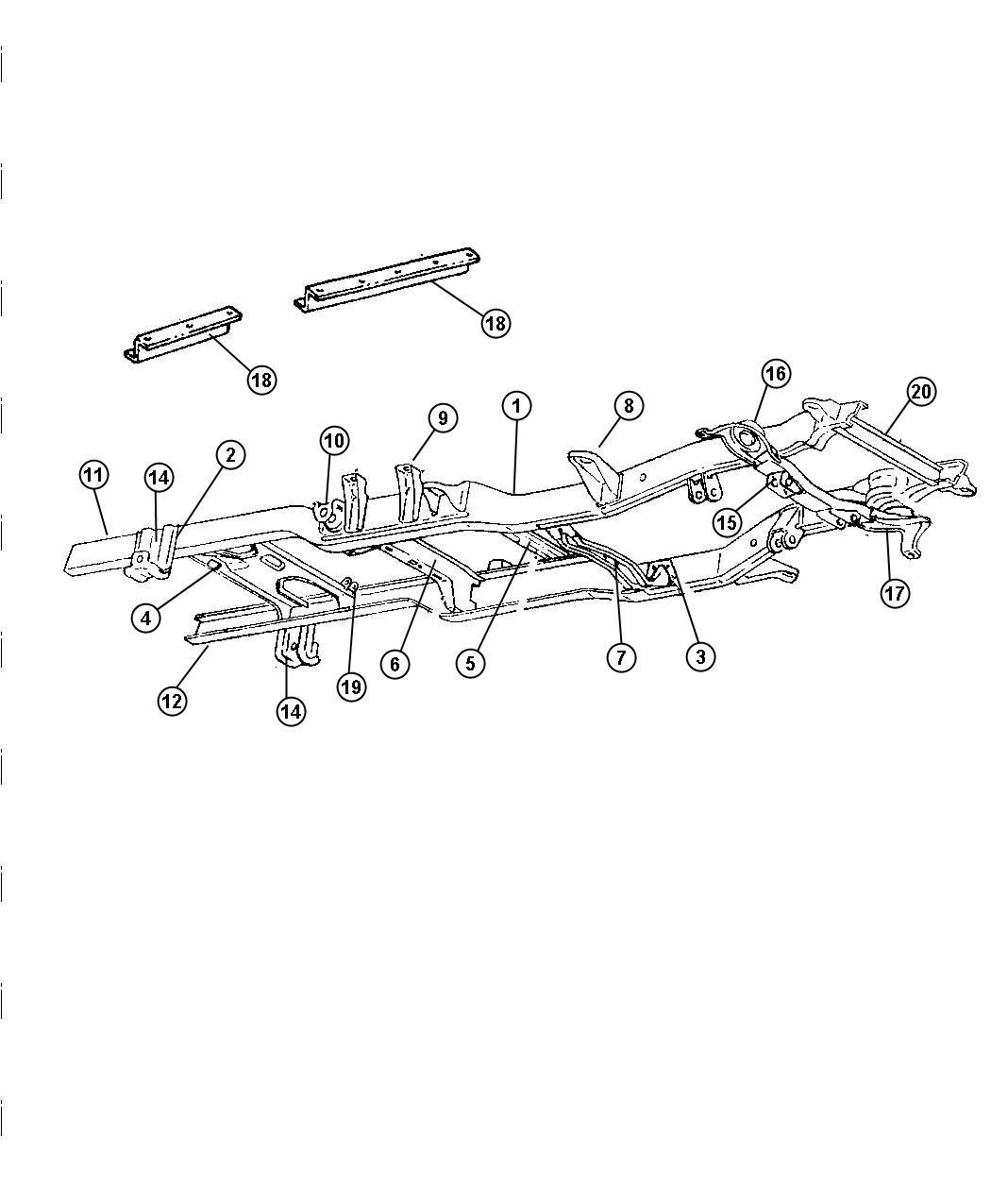 1998 dodge ram 3500 bracket  shackle  rear  rear hanger  rear spring  reqmt