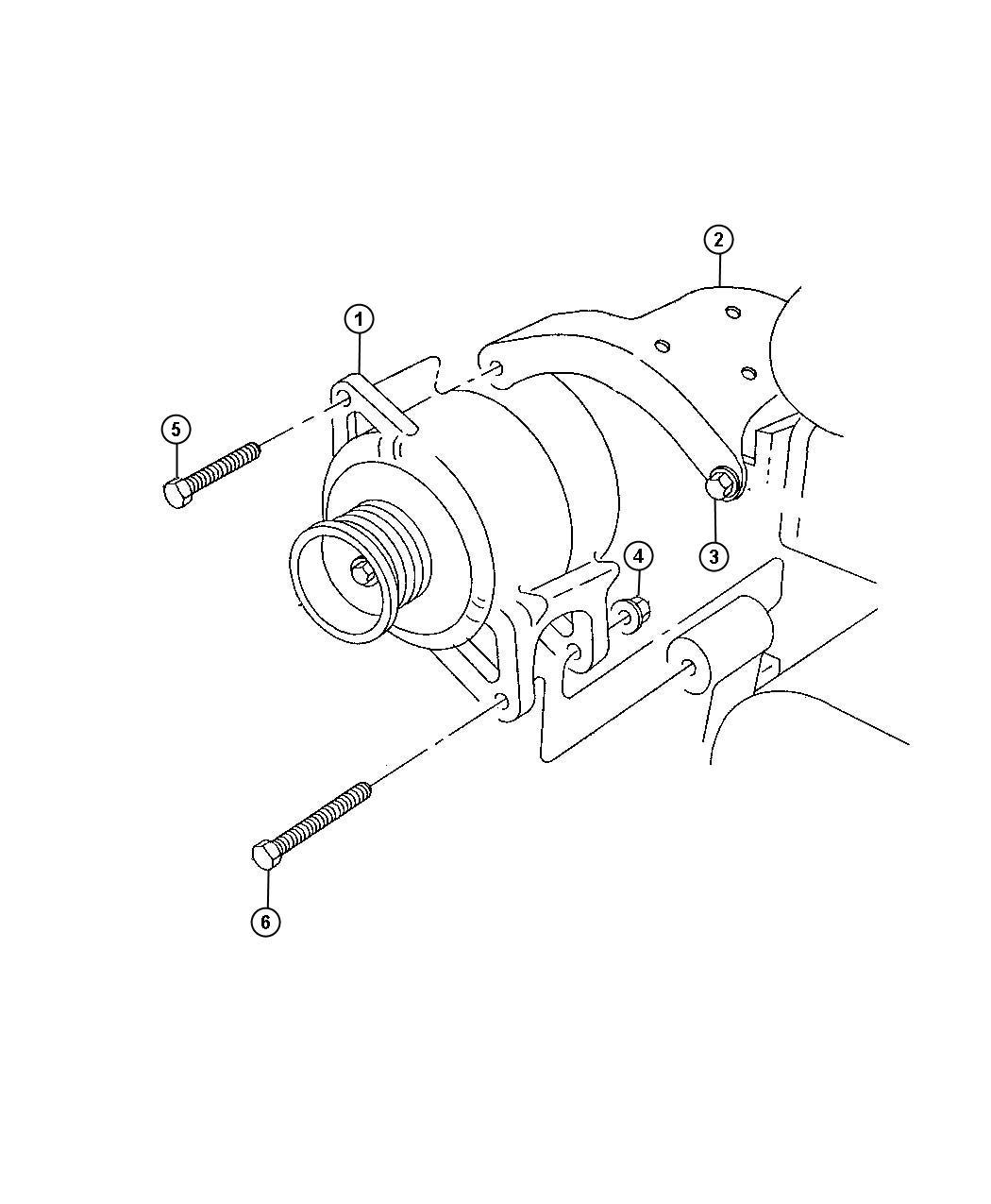 dodge ram 3500 generator engine 120 amp alternator. Black Bedroom Furniture Sets. Home Design Ideas