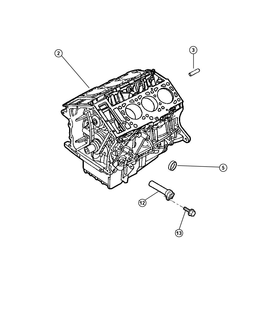 Chrysler Lhs Engine  Long Block