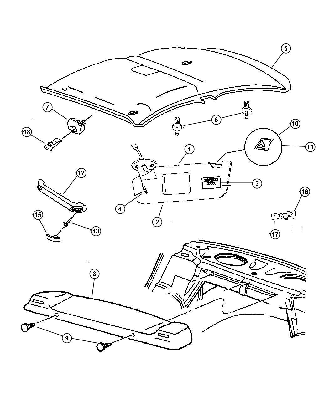 2017 Chrysler PACIFICA L HYBRID Screw. Pan Head. M6x1x20