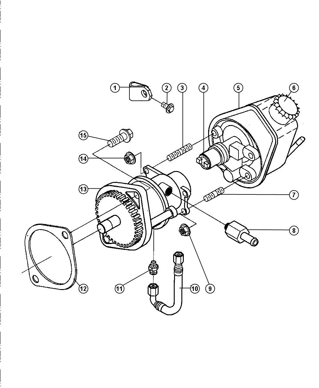 Dodge Ram 2500 Hose. Brake vacuum. Etb - 04874538 | Myrtle ...