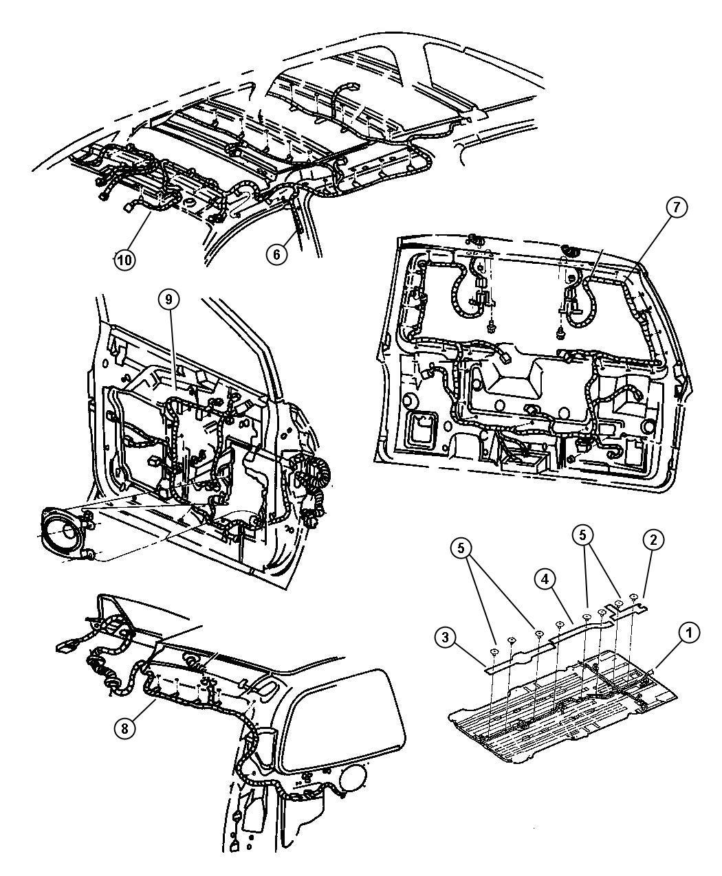 dodge grand caravan wiring  radiator fan  acid