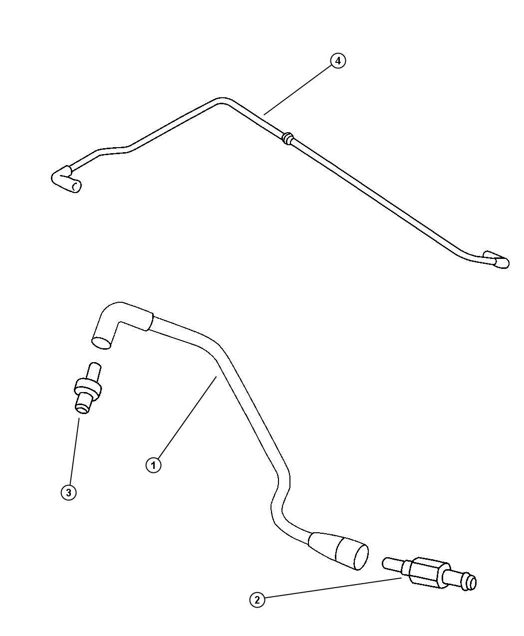 chrysler pt cruiser filter  crankcase vent  located in body  ech  ecb  cleaner