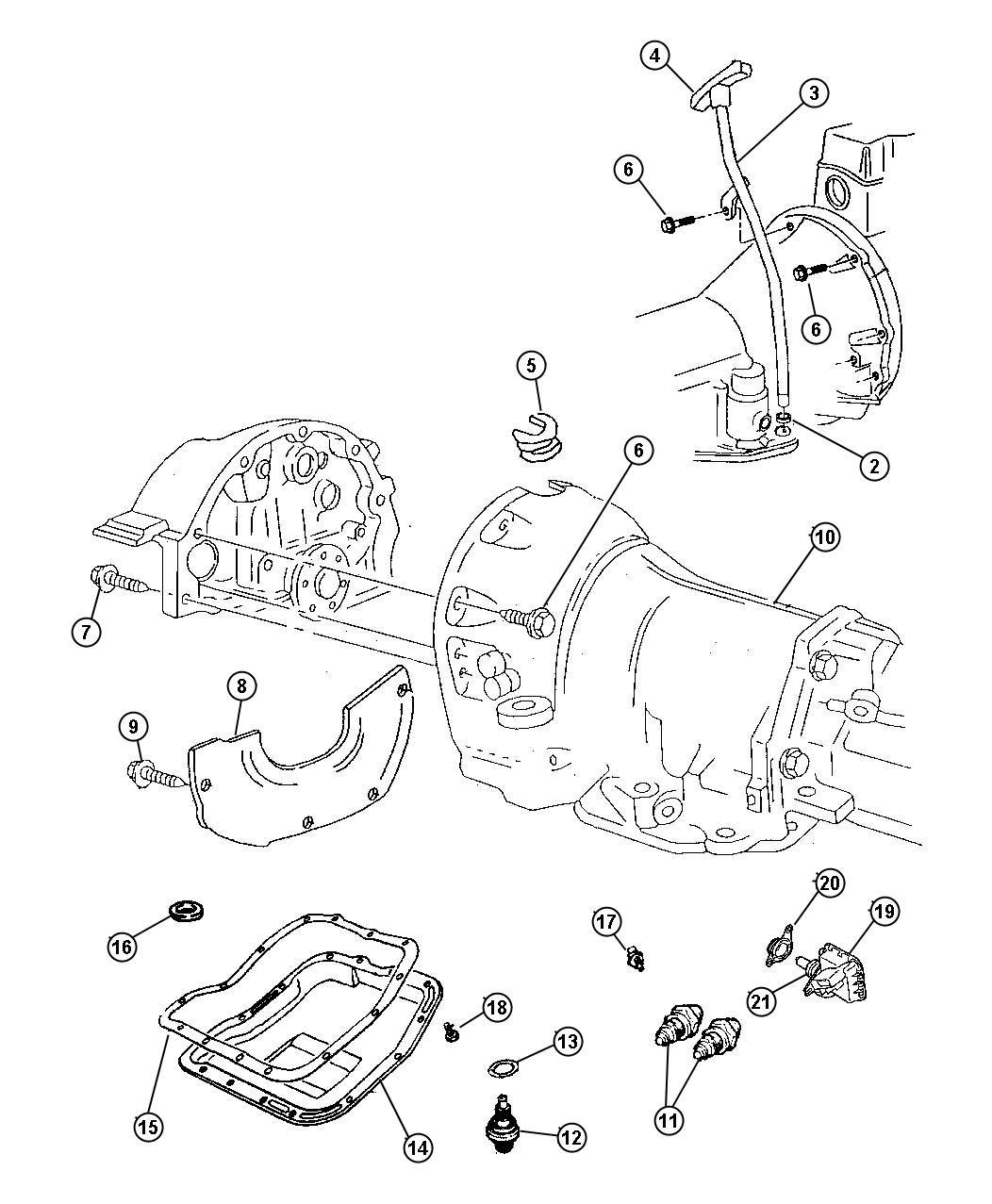 Dodge Dakota Switch  Neutral Safety  Back Up  Neutral