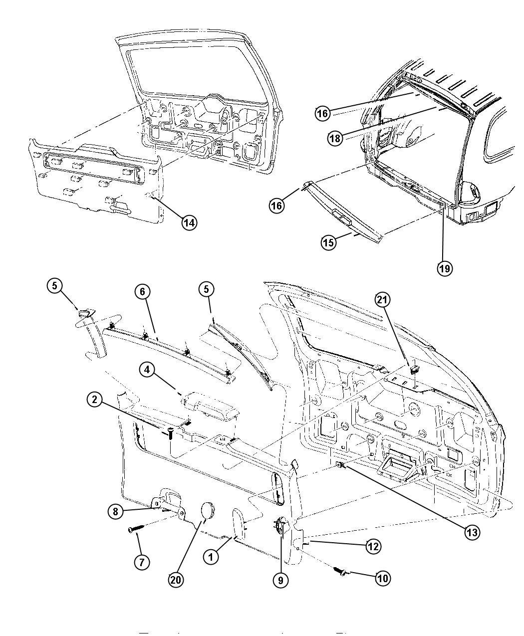 How To Remove Sliding Door Panel On Dodge Caravan: Dodge Caravan Plug. Sliding Door/liftgate. Hinge Access