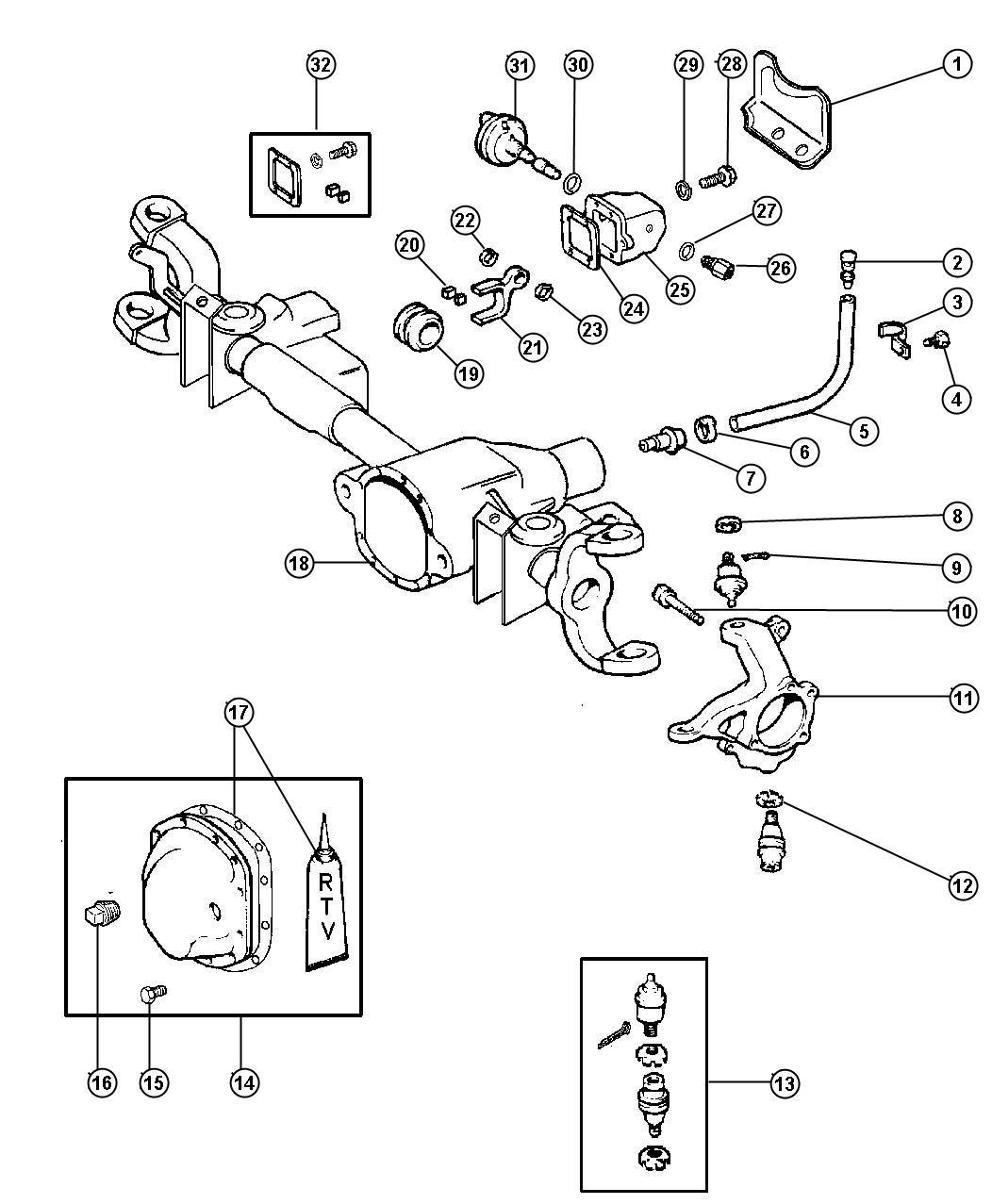 1999 chrysler sebring bolt  mounting  hub  axle  front