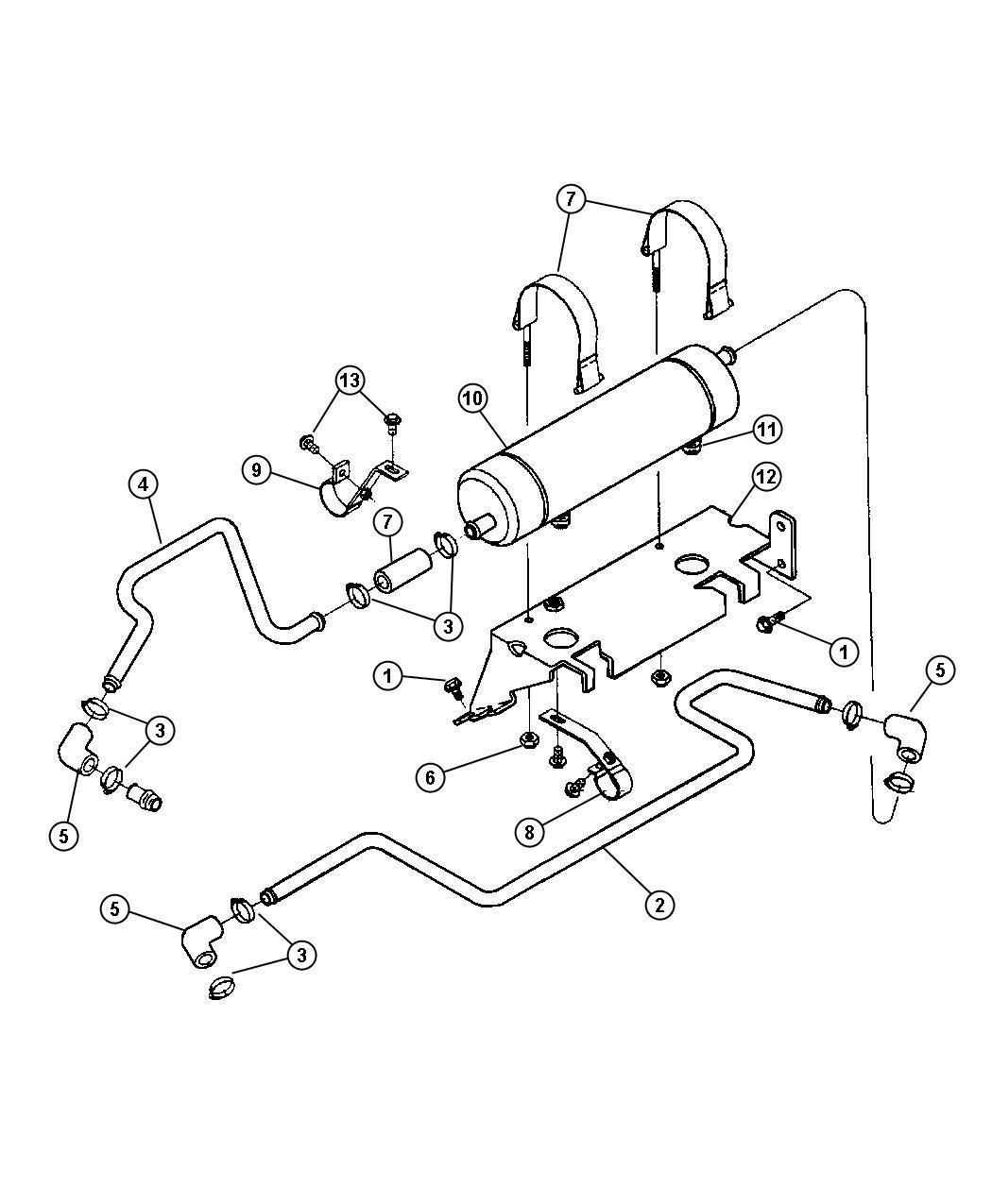 2000 dodge ram 2500 connector oil cooler emissions. Black Bedroom Furniture Sets. Home Design Ideas