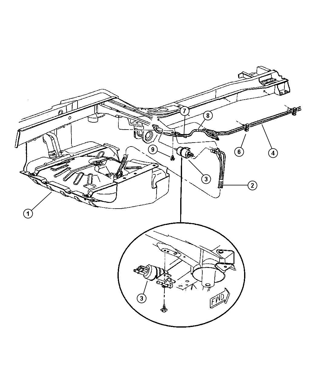 1999 jeep grand cherokee used for  filter and regulator