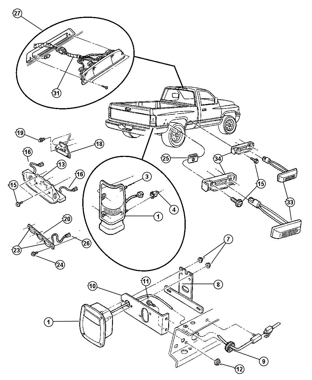 22+ 06 Dodge Ram Tail Light Wiring Diagram Images