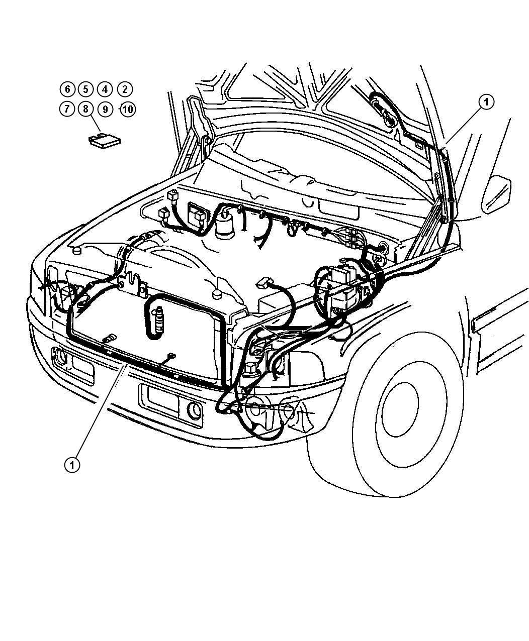 2001 Dodge Ram 3500 Flasher  Turn Signal  Hazard Flasher