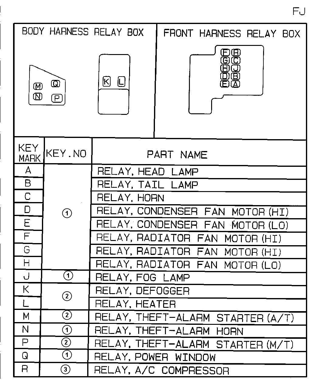 Dodge Avenger Bracket  Relay  Micro  Mini  Trim   All Trim Codes