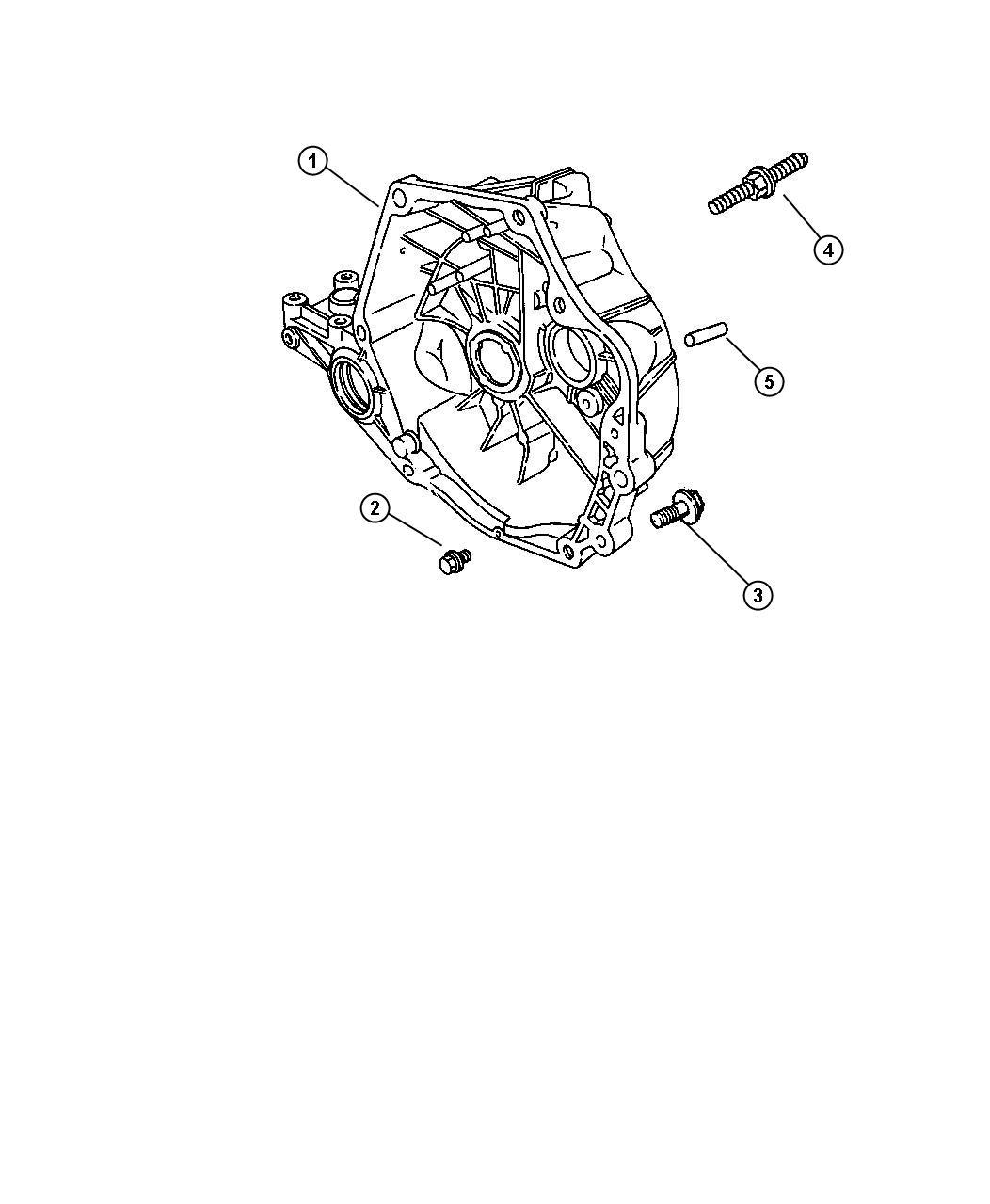 Dodge Stratus Bolt  Hex Head  M12-1 75x60  Mounting