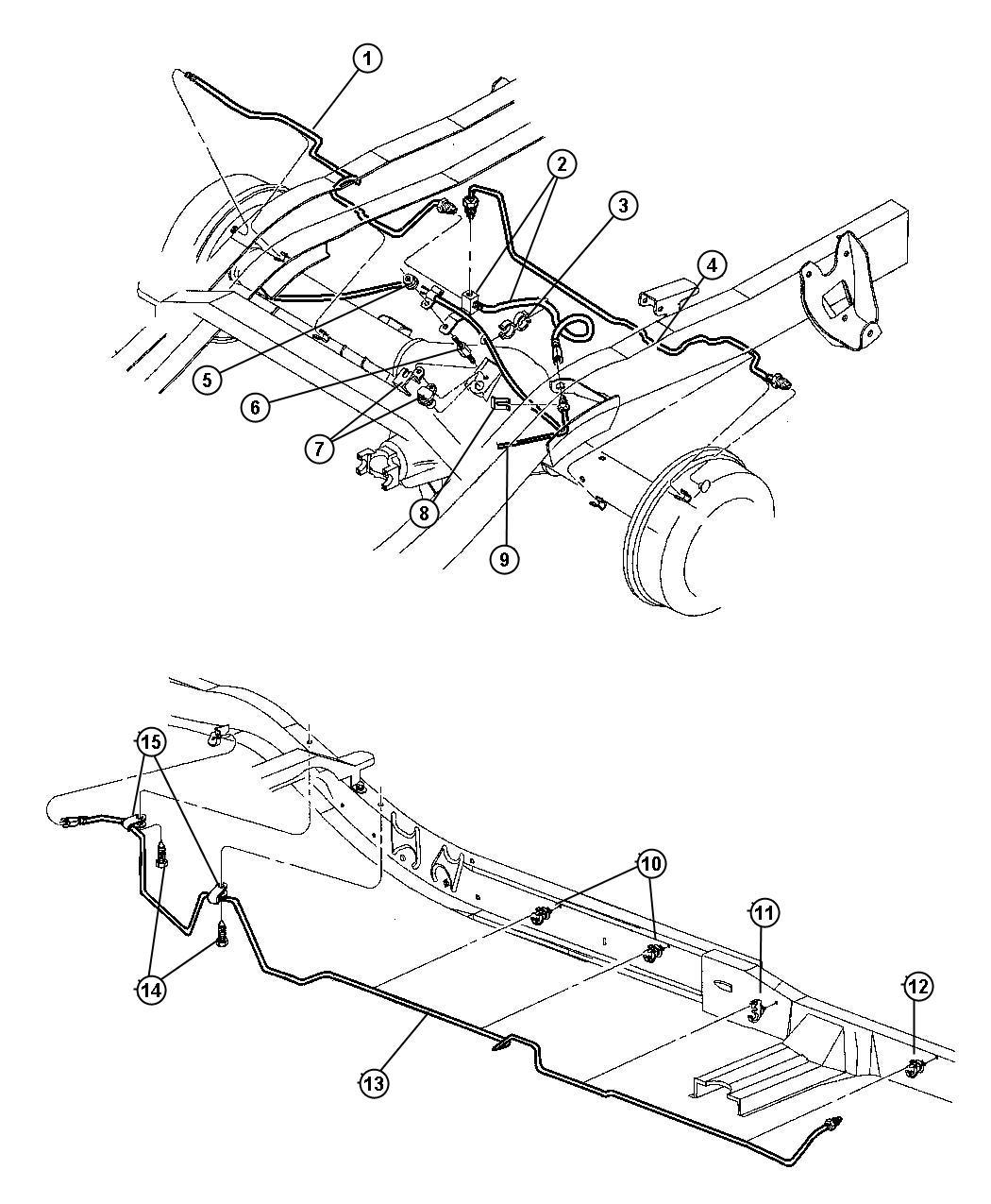 I on 1998 Dodge Dakota Rear Brake Diagram