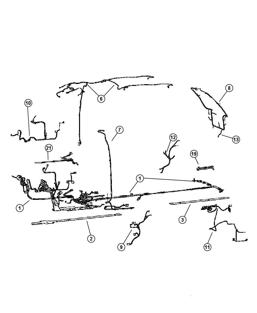 2002 chrysler town country wire track sliding door. Black Bedroom Furniture Sets. Home Design Ideas