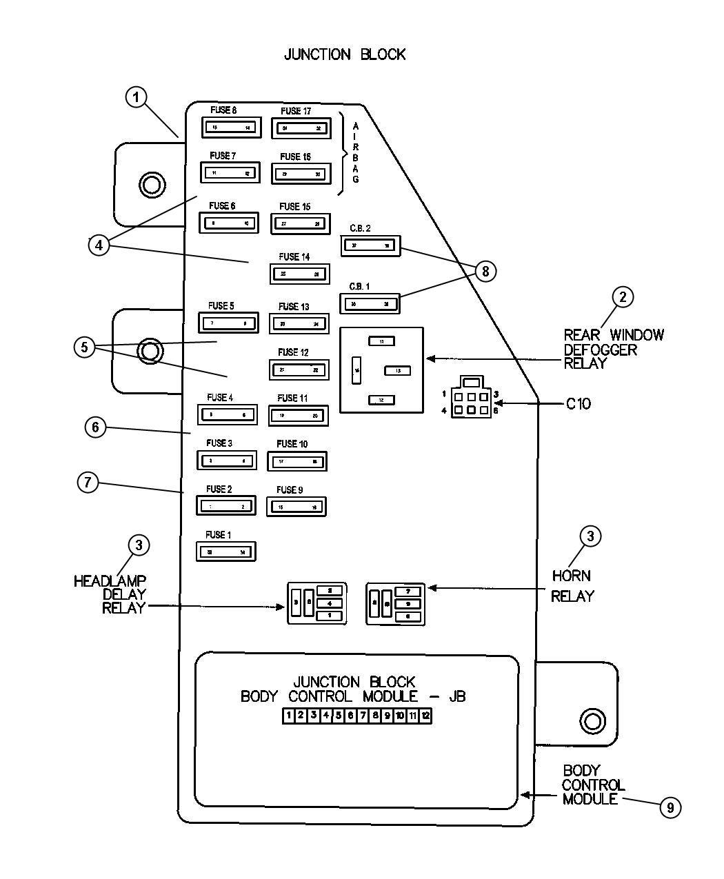 1987 chrysler fuse  ato  standard  30 amp  green  30 amp