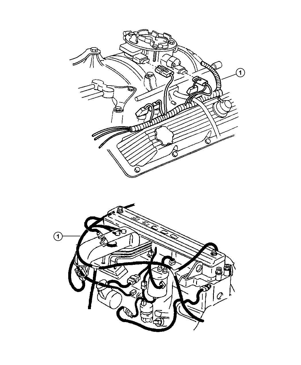 2001 dodge ram 3500 wiring  engine  california emission