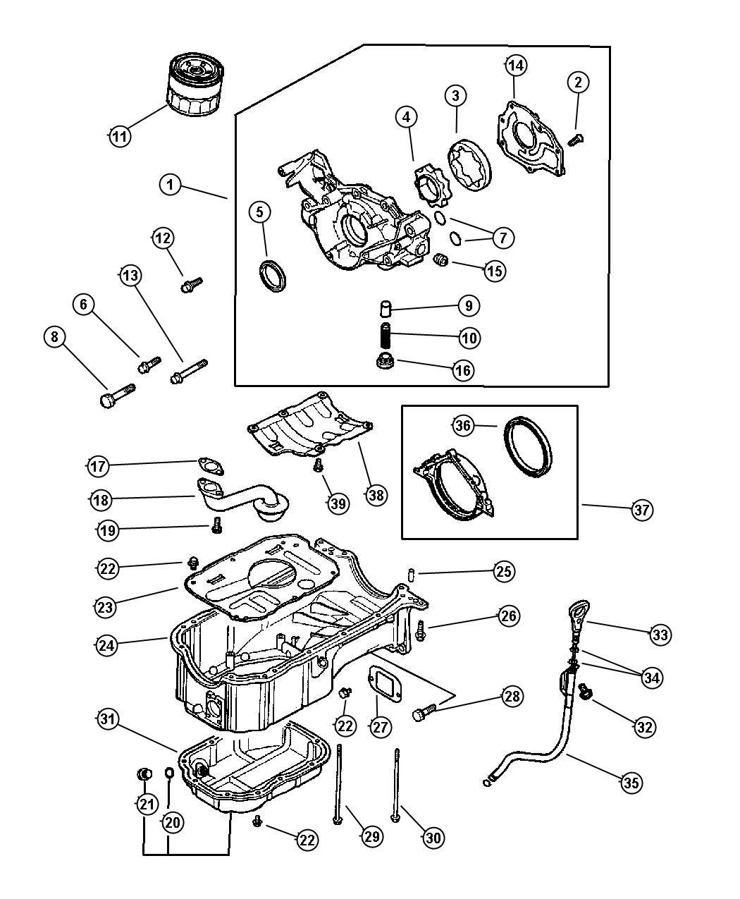 2001 3 0l Sebring Enginepartment Diagram