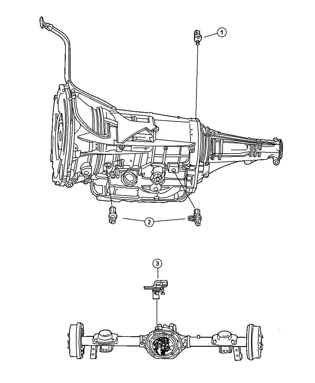 Dodge Dakota Sensor  Transmission Output Speed