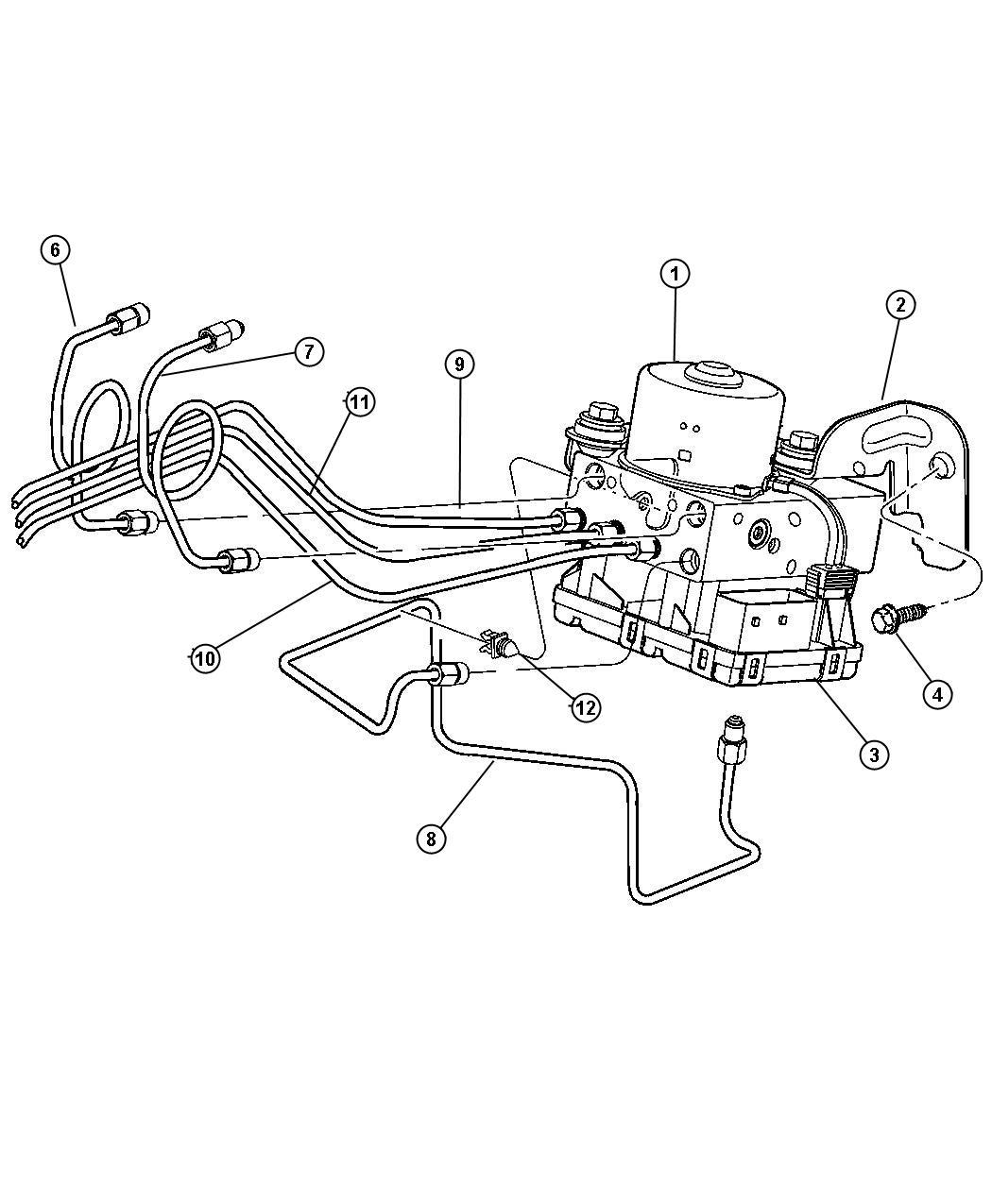 2008 Chrysler Pt Cruiser Module  Anti