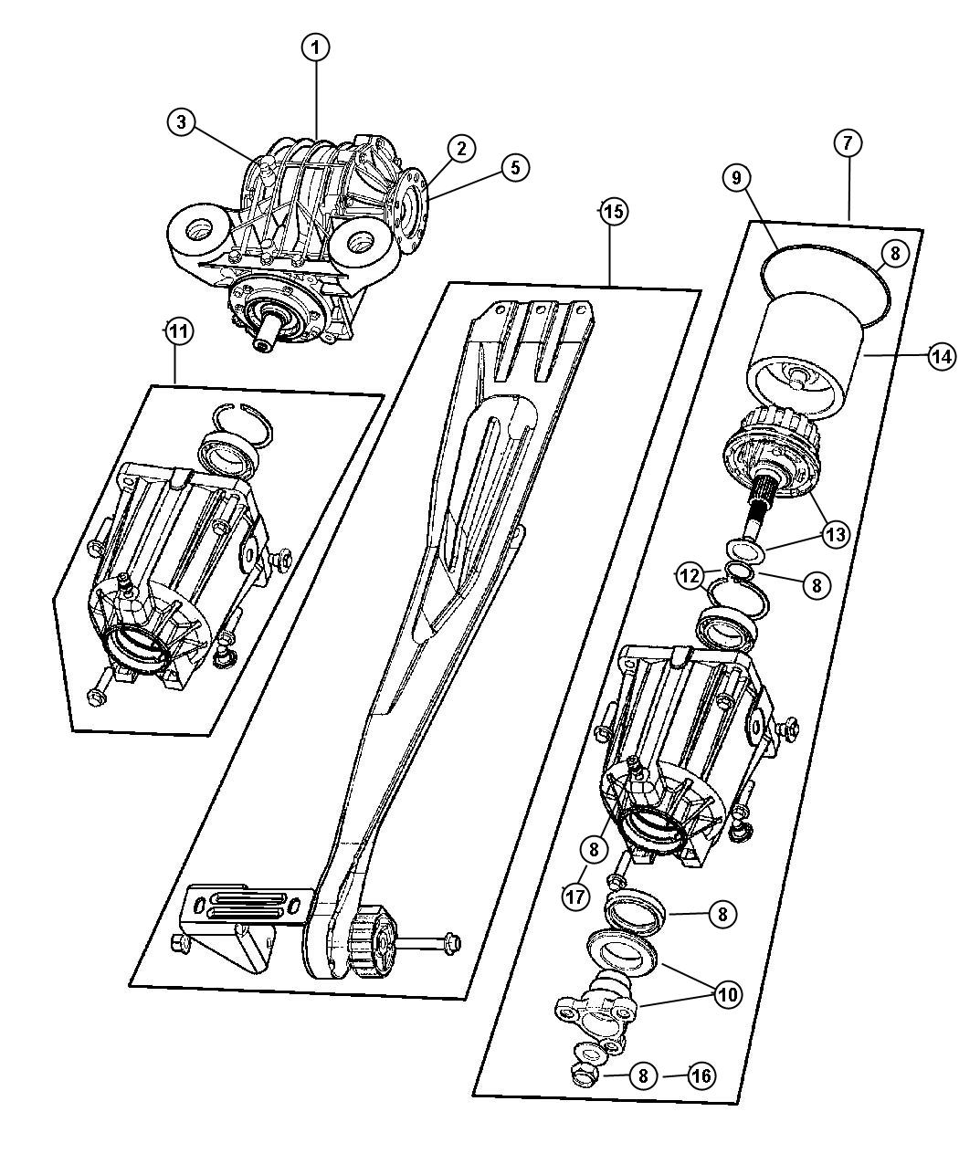 2012 dodge journey rear suspension diagram