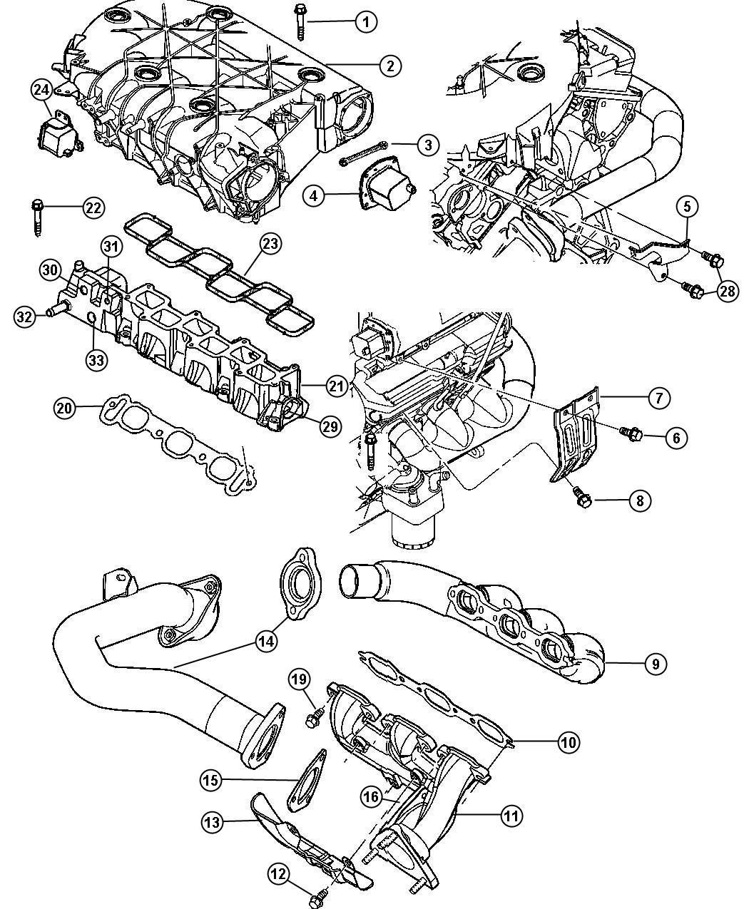 2011 jeep compass plenum  intake manifold  engine  tow