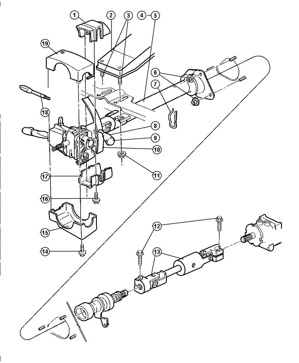 1995 Jeep Wrangler Switch  Ignition  Upto 10-1-97