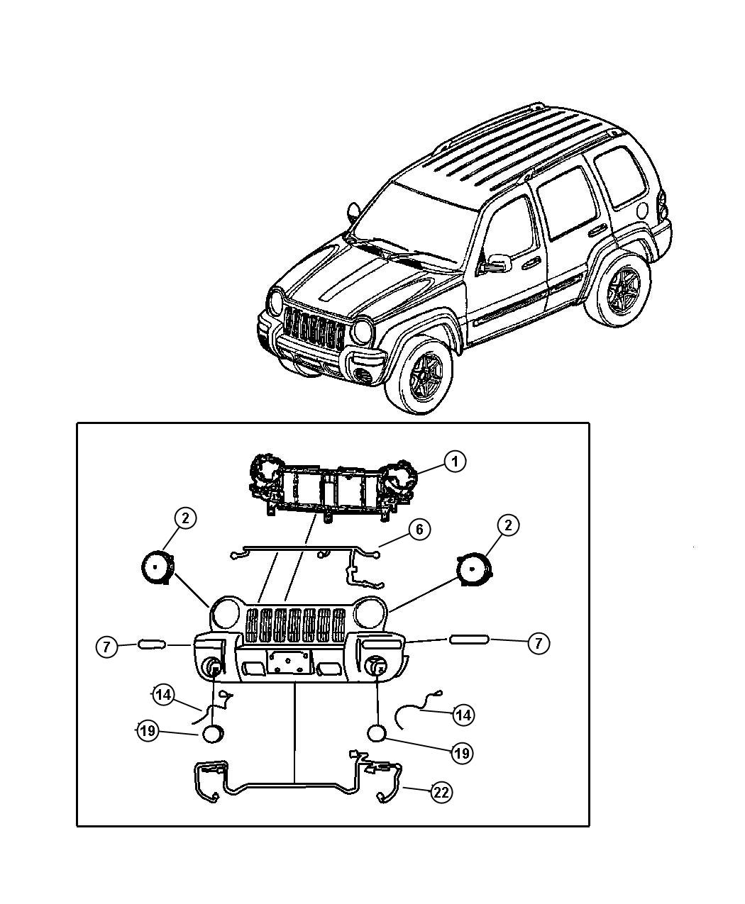 2007 jeep liberty socket  side marker  headlamp  leveling