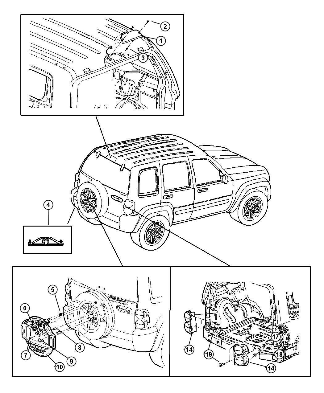 2010 Dodge Grand Caravan Wiring. License lamp. [fascias ...