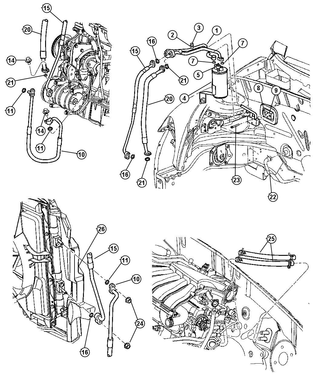 2012 Kia Sorento Engine Diagram likewise 2AMC4946AA moreover 1996 Volvo 850 Electric Cooling Fan System Schematic And Wiring Diagram besides RepairGuideContent additionally 5n7ic Chrysler Town   Country Lxi Find Low Port. on 2008 pt cruiser air conditioner diagram