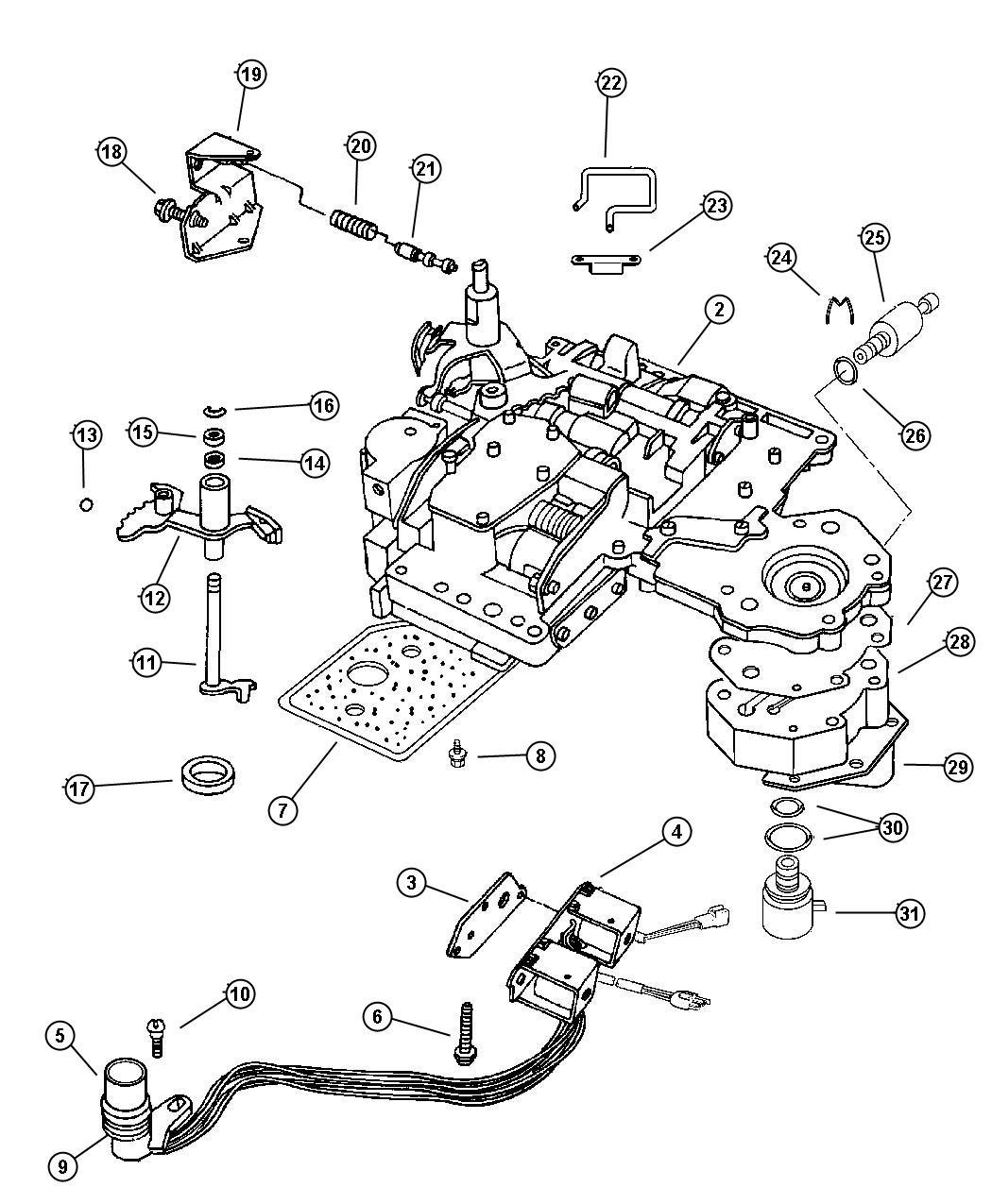 2009 Jeep Liberty Transducer  Pressure Sensor  4 Prong Connector  52119522 Ac  W   Bgj  W  Bgj