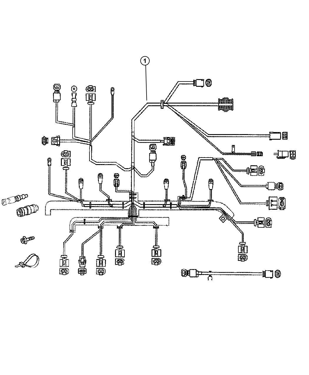 2010 Jeep Patriot Wiring  Engine  Tag  Related  Mopar