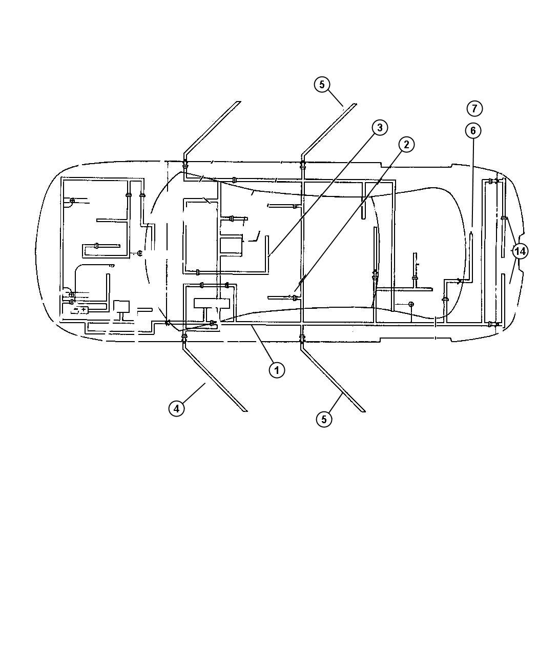 Chrysler 300 Wiring. Unified body. [[all vehicles with abs ...