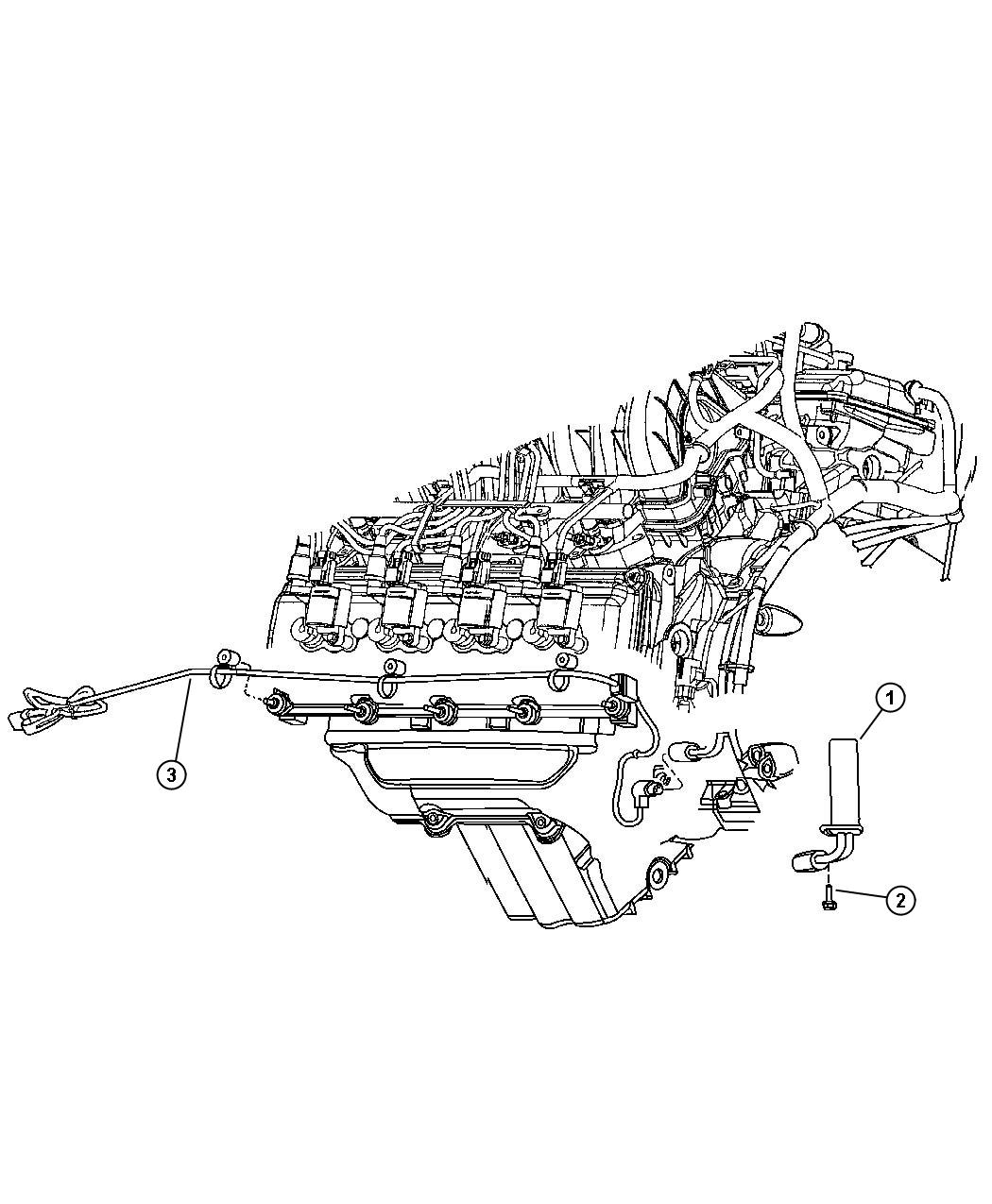 2005 Chrysler 300 Cord  Engine Block Heater  For 5 7l