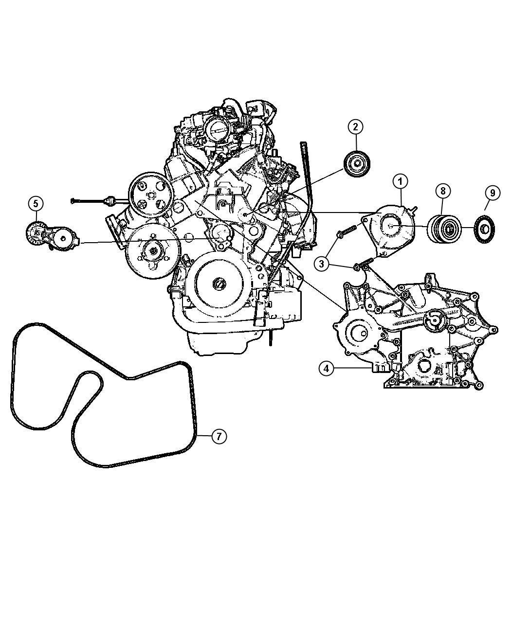 2005 dodge grand caravan generator  engine   alternator - 160 amp    alternator