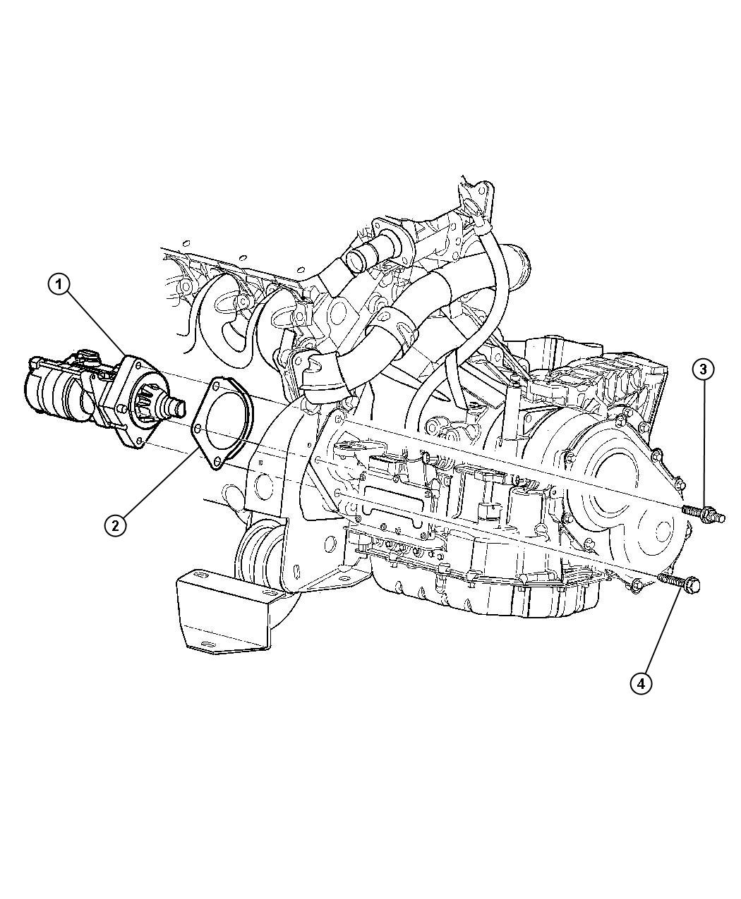 dodge avenger starter  engine  remanufactured  maintenance