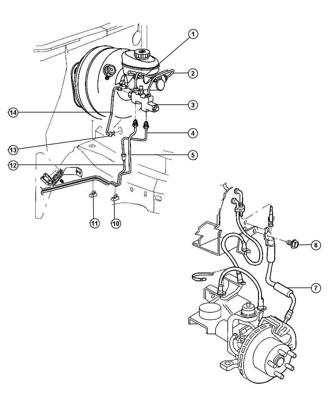 1997 jeep cherokee tube  brake  right  proportioning valve to brake hose  proportioning valve