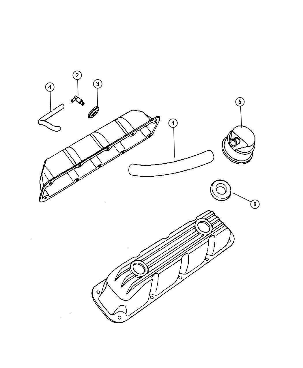 chrysler 200 grommet  crankcase vent  gromet  pcv valve