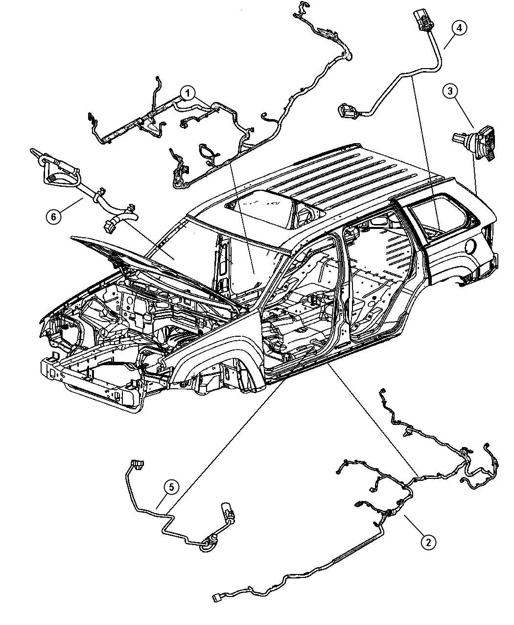 1997 Jeep Cherokee Body Wiring Diagram