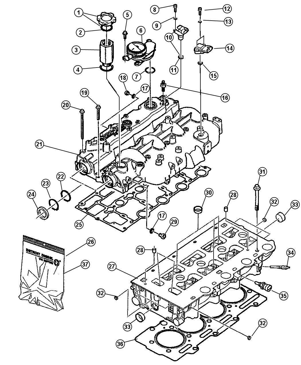 2011 jeep wrangler gasket kit  head